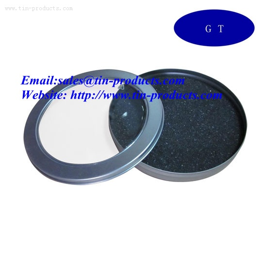Round  Metal CD Case from China wholesaler