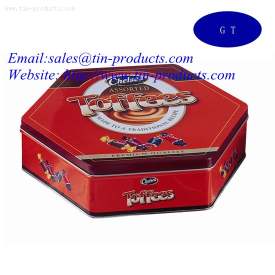 Special Blank Candy Tin Boxes from China
