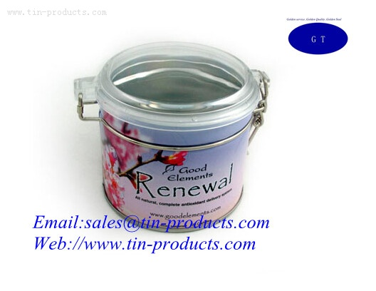 Airtight Coffee Tin Box from China supplier