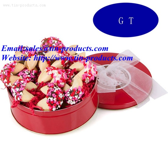 Cookie Tin Box  for Gift Packaging
